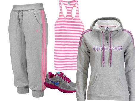36a88cc2f Treningstøy grått-rosa – Adidas – Victorias secret – Nike | From ...